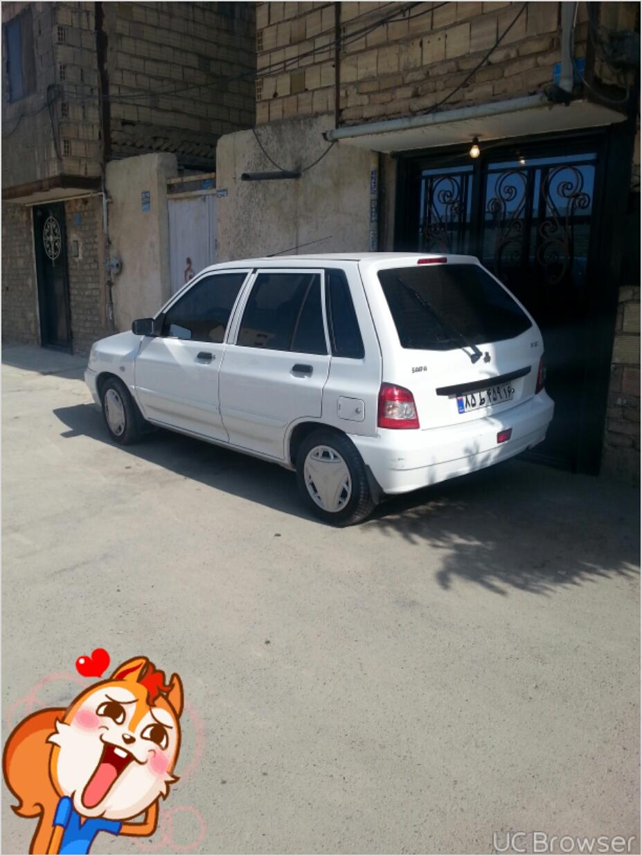 فروش پراید 111SE مدل 1395