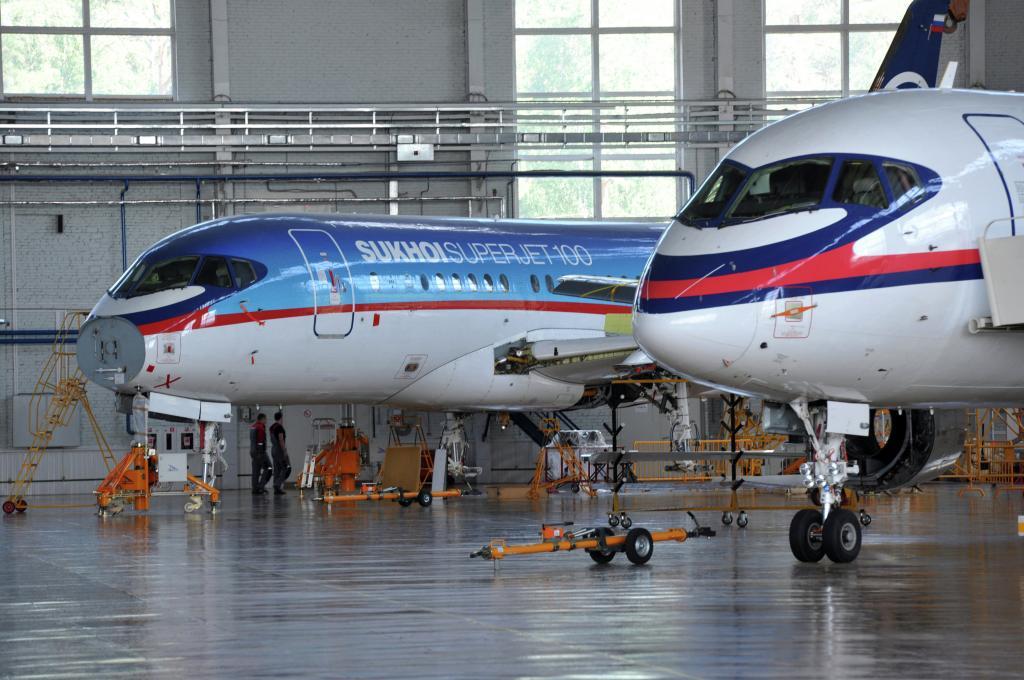 مشخصات هواپیمای سوخو سوپرجت 100 (Sukhoi Superjet 100)