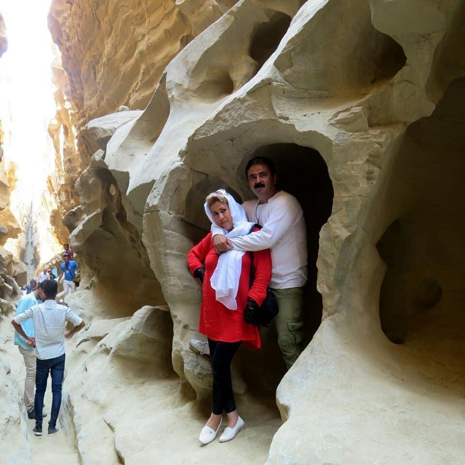 معرفی کامل تنگه چاهکوه جزیره قشم، آریزونای ایران! + تصاویر