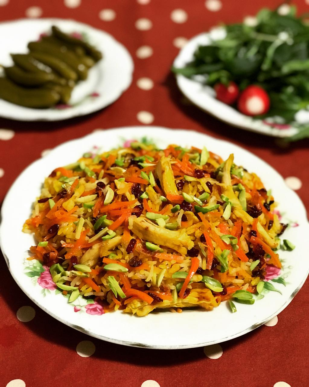 آموزش پخت هویج پلو خوشمزه با مرغ برای 4 نفر