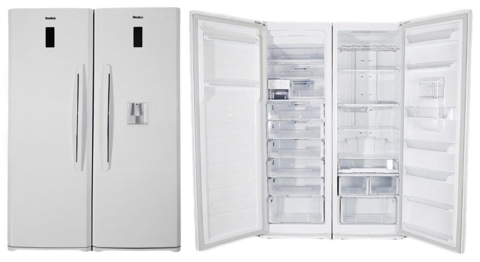 مقايسه یخچال و فریزر هیتما مدل AHPN30C2WB با یخچال و فریزر برفاب مدل BNF-BNR Barfab Refrigerator