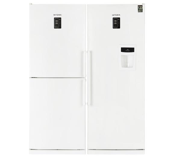 مقايسه یخچال و فریزر برفاب مدل BNF-BNR Barfab Refrigerator با یخچال و فریزر هیتما مدل AHPN30C2WB