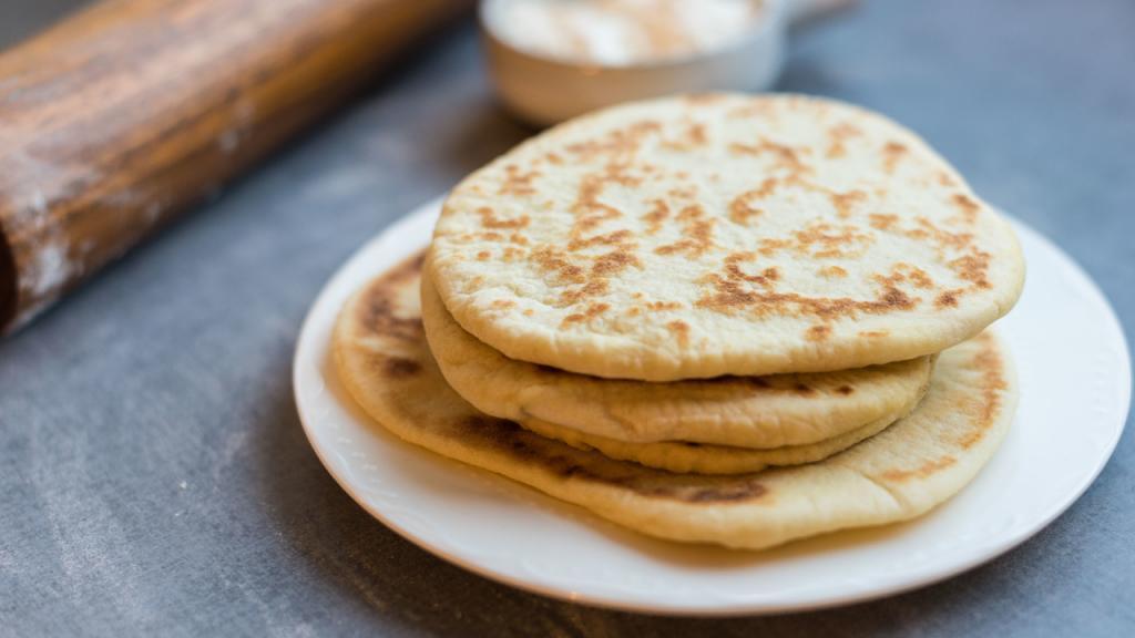 آموزش پخت نان پیتا (Pita) خوشمزه و خانگی
