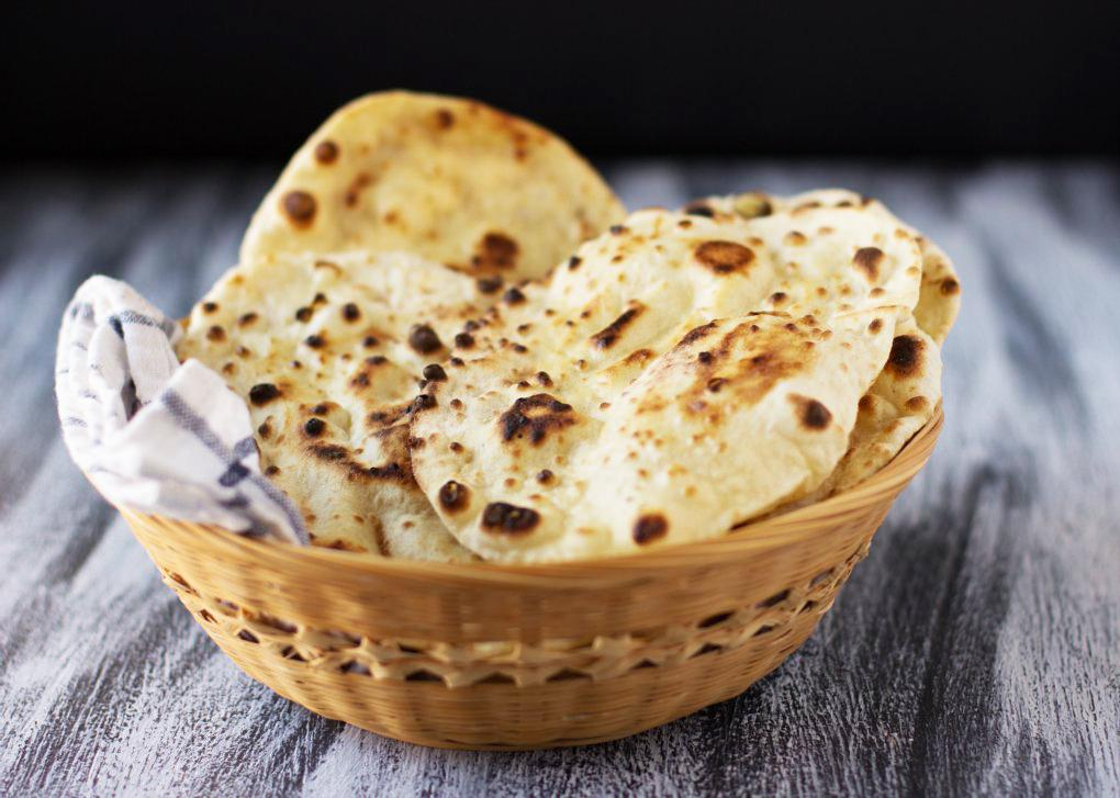 آموزش پخت نان هندی (naan) در خانه