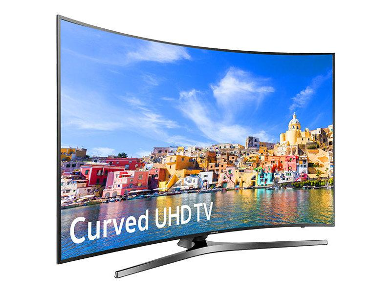 مقايسه تلويزيون ال اي دي ايکس ويژن مدل 32XK550 سايز 32 اينچ با تلويزيون ال اي دي هوشمند خميده سامسونگ مدل 65MU10000 سايز 65 اينچ