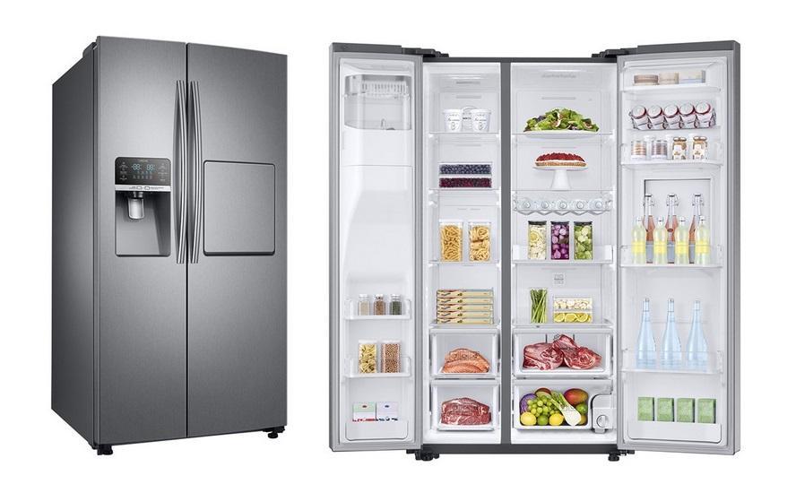 مقايسه یخچال و فریزر برفاب مدل BNF-BNR Barfab Refrigerator با يخچال و فريزر سامسونگ مدل POLARIS