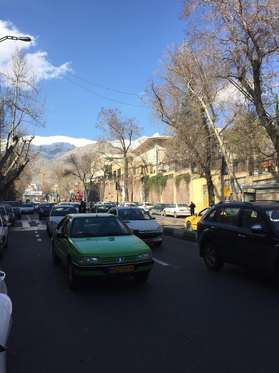 خیابان شریعتی یا خیابان کورش کبیر، کجاست؟