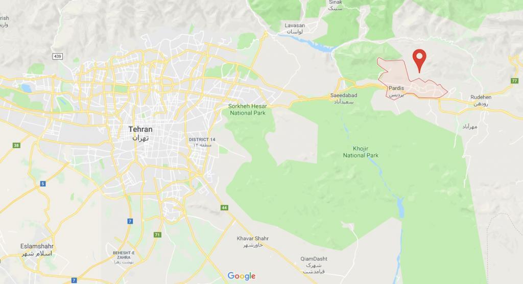 شهر جدید پردیس (تهران) کجاست؟