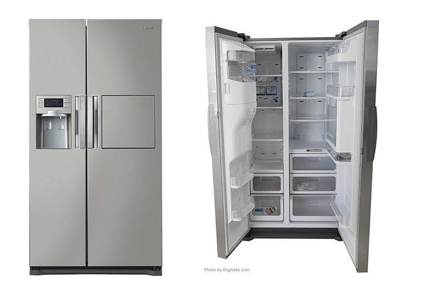 مقايسه یخچال فریزر دو قلوی هیوندای مدل 7051 HYUNDAI Refrigerator با يخچال و فريزر سامسونگ مدل HM34 Samsung Refrigerator