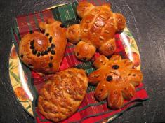 دستور پخت انواع خمیر نان فانتزی / از نان شکل دار تا نان فوکاچیا