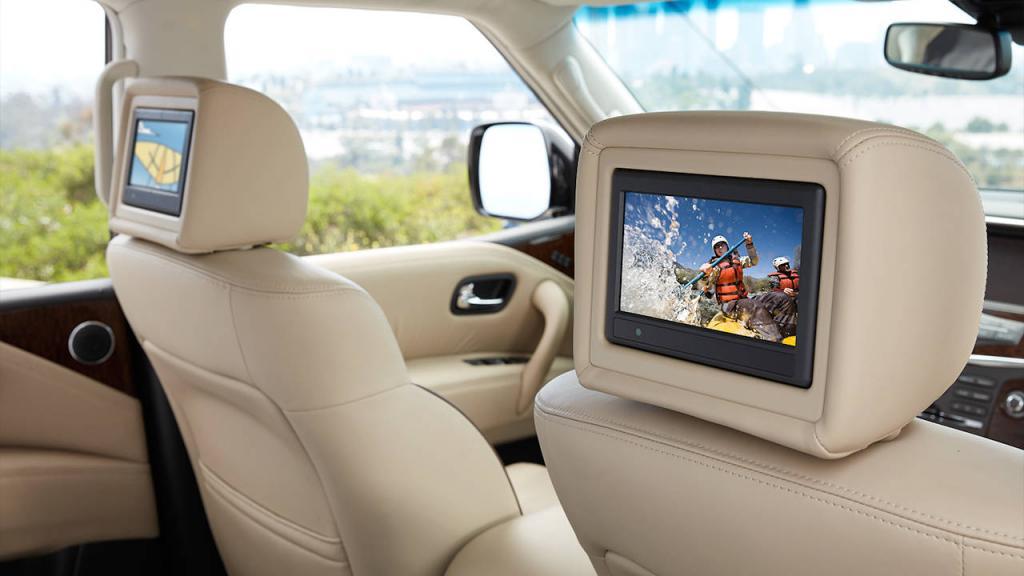 Nissan Armada Platinum 2017 Nissan Armada Platinum® DVD headrest monitors فایندز ...