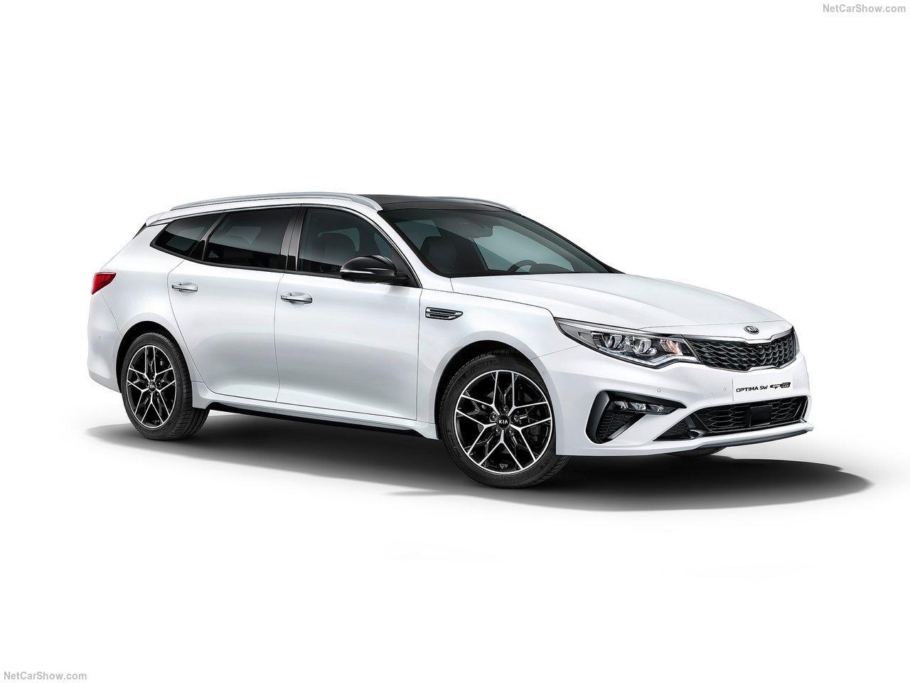 Kia Optima Sportswagon facelift 2019