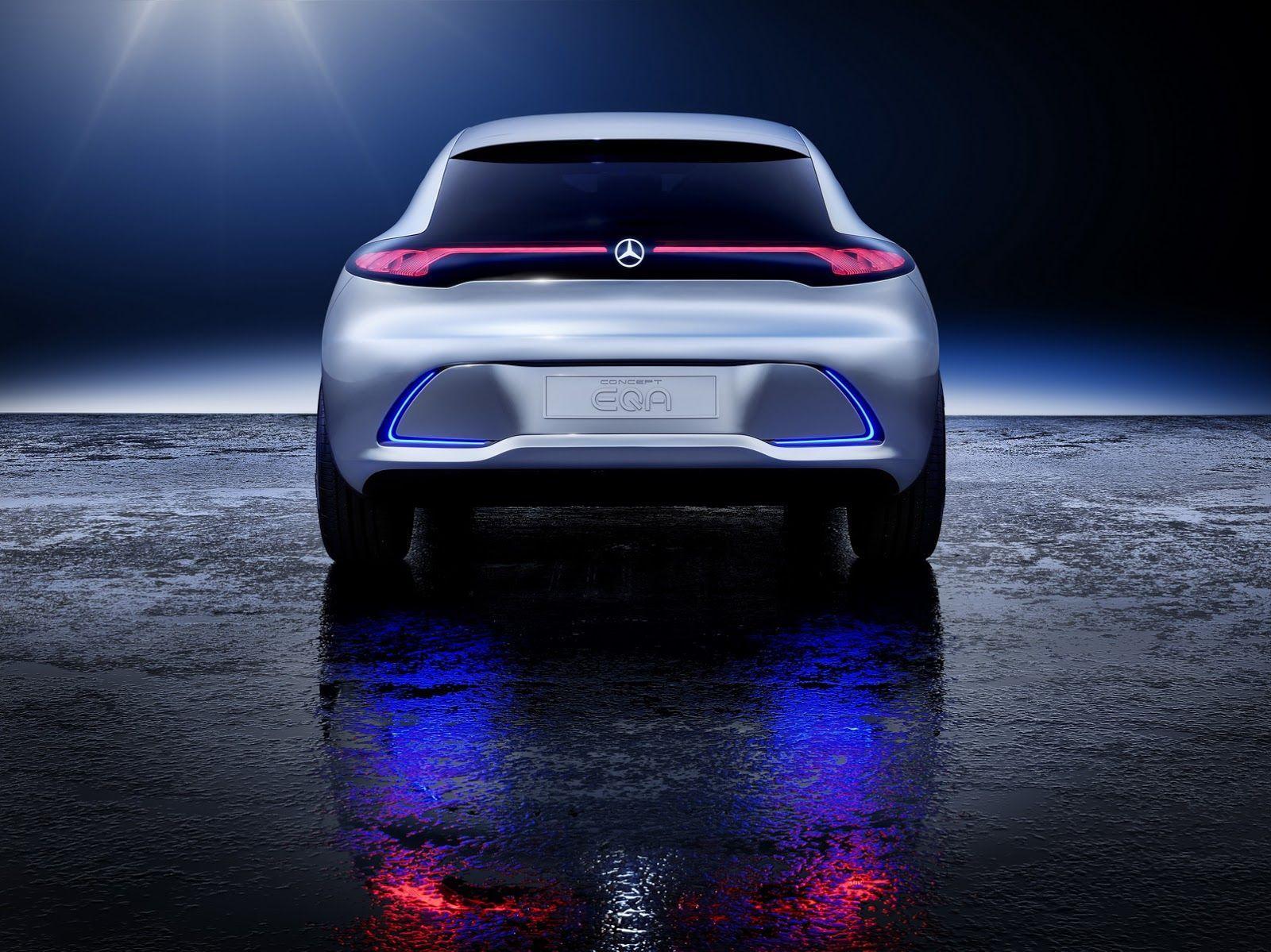 Mercedes Benz EQA Compact Electric Car