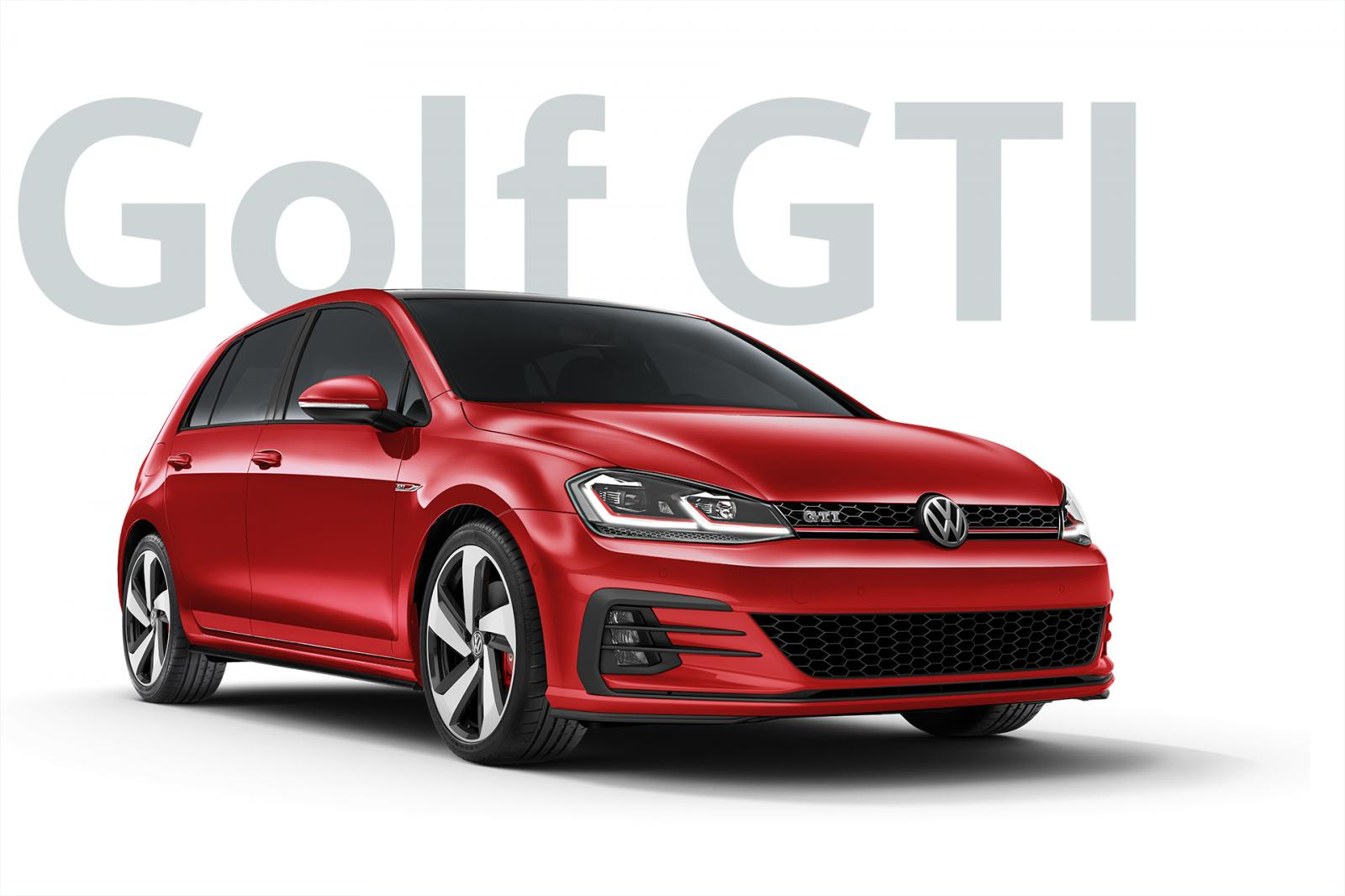 2018 VW Golf GTI photo gallery