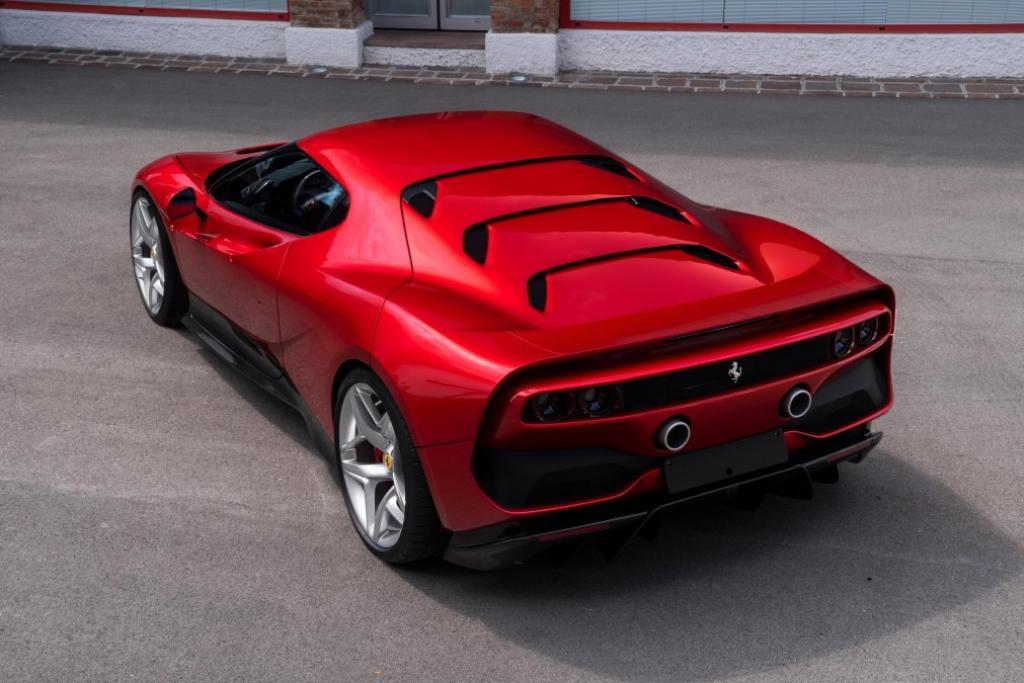 Ferrari unveils one off SP38 supercar