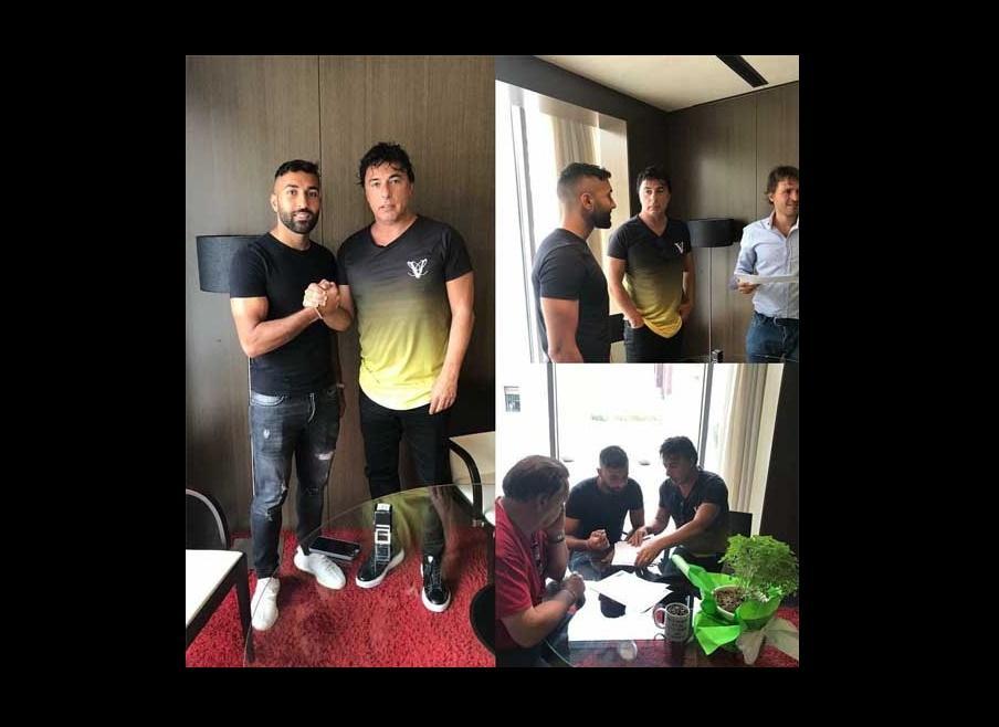 سامان قدوس، ستاره فوتبال ایران، وارد لالیگای اسپانیا شد