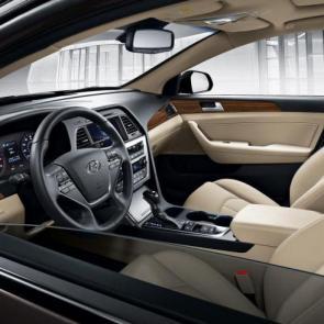 Hyundai Sonata 2017 interior #13