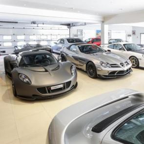 کلکسیون خودروهای گران قیمت میلیاردر بحرینی #1