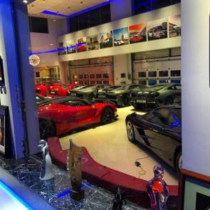 کلکسیون خودروهای گران قیمت میلیاردر بحرینی #6