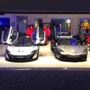 کلکسیون خودروهای گران قیمت میلیاردر بحرینی #7