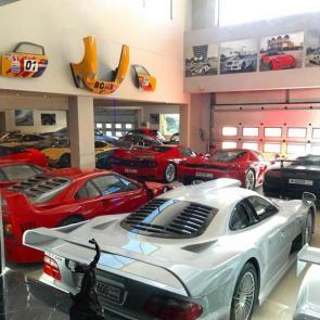کلکسیون خودروهای گران قیمت میلیاردر بحرینی #8