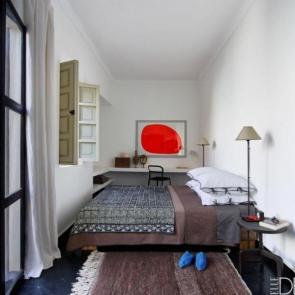 زیباترین ایدهها برای دکوراسیون اتاق خوابهای کوچک #4