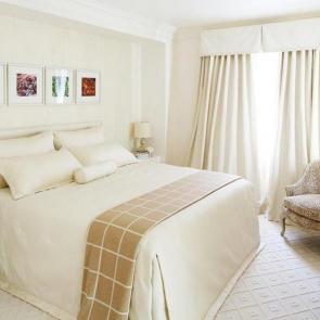 زیباترین ایدهها برای دکوراسیون اتاق خوابهای کوچک #5