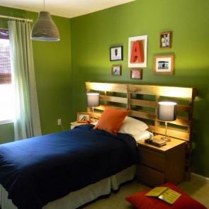 زیباترین ایدهها برای دکوراسیون اتاق خوابهای کوچک #8