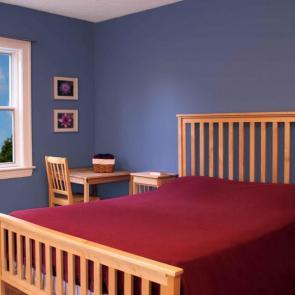 زیباترین ایدهها برای دکوراسیون اتاق خوابهای کوچک #10