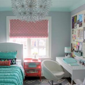 زیباترین ایدهها برای دکوراسیون اتاق خوابهای کوچک #11