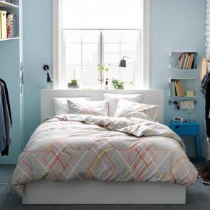 زیباترین ایدهها برای دکوراسیون اتاق خوابهای کوچک #14