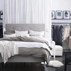 زیباترین ایدهها برای دکوراسیون اتاق خوابهای کوچک #15