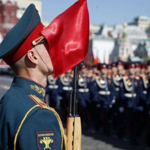 Russia Red Square parade 2018