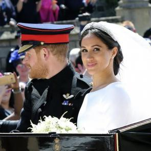 The wedding of Prince Harry and Meghan Markle in pictures