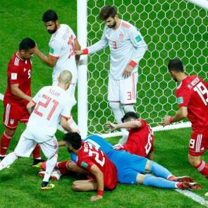 iran vs spain in world cup russia 2018