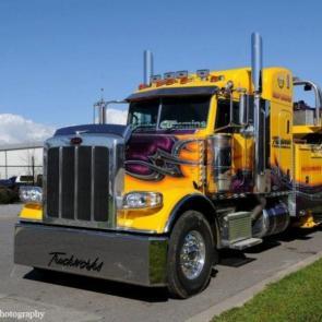 آلبوم عکس زیباترین کامیون های جهان برگرفته از Flickr / عکس #32
