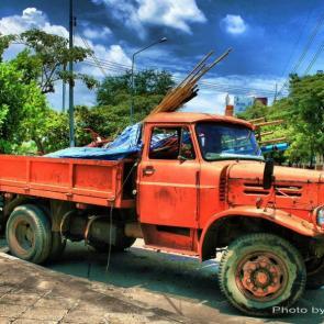 آلبوم عکس زیباترین کامیون های جهان برگرفته از Flickr / عکس #43