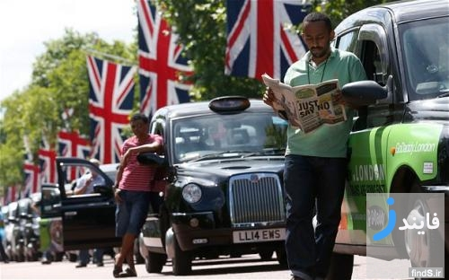 اعتراض هشت هزار راننده تاکسی سیاه لندن به اپلیکیشن جنجالی اوبر uber
