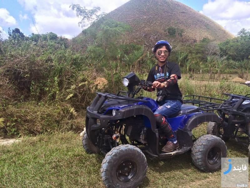 تصاویری دیدنی از تپه های شکلاتی شکل بهل فیلیپین