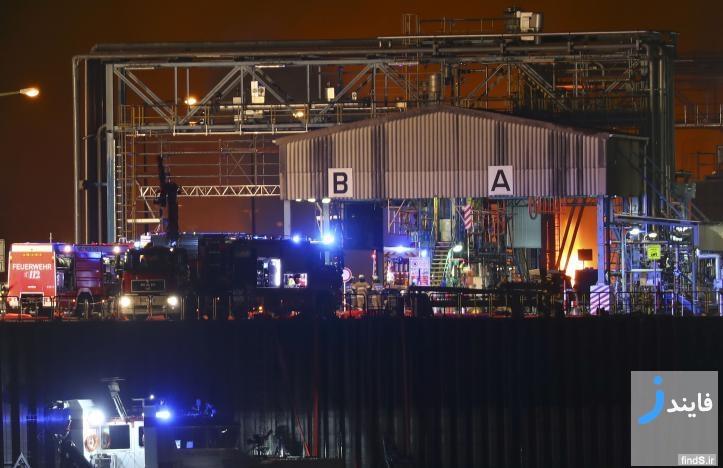 بزرگترین شرکت صنایع شیمیایی جهان آتش گرفت