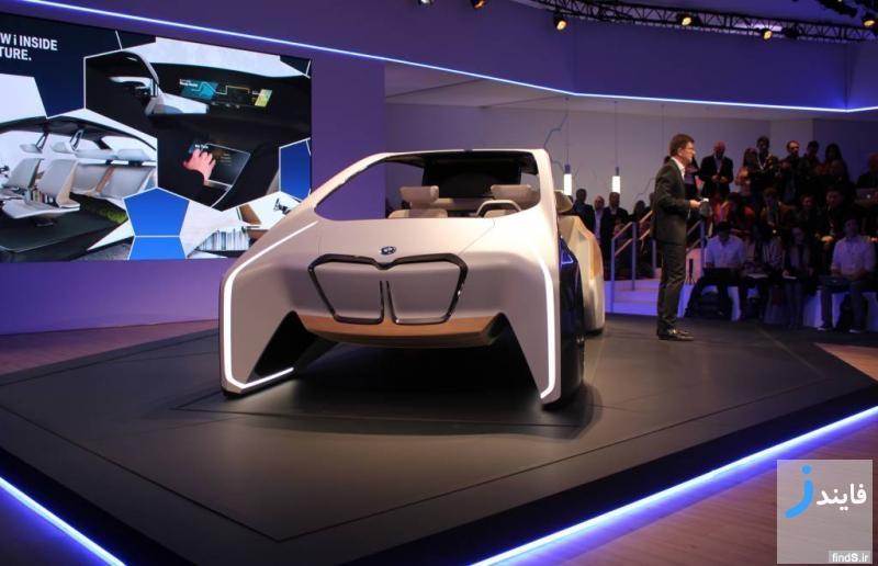 رونمایی از خودروی آینده شرکت بی ام و در نمایشگاه CES 2017