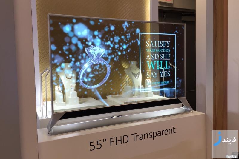 جدیدترین تلویزیون شرکت ال جی که جایگزین پنجرهها می شود!