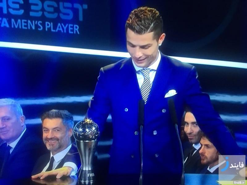 لحظه انتخاب بهترین بازیکن فوتبال جهان در سال 2016 + تصاویر