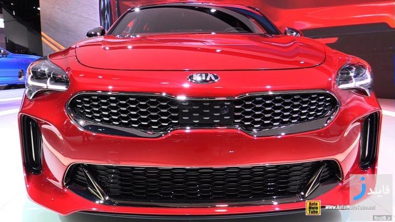 ویدیوی تبلیغاتی کیا استینگر 2018 جدیدترین محصول شرکت کیا موتورز
