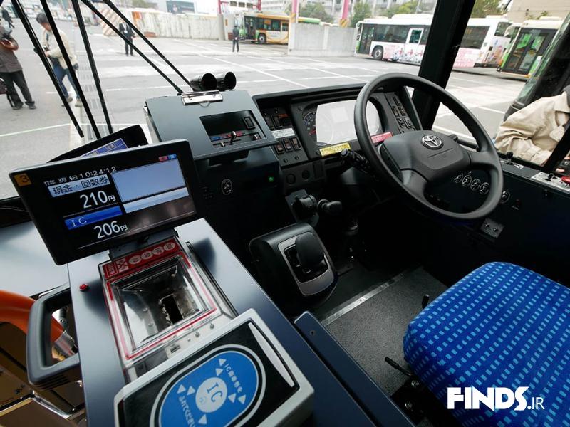 اتوبوس جدید شرکت تویوتا رونمایی شد!