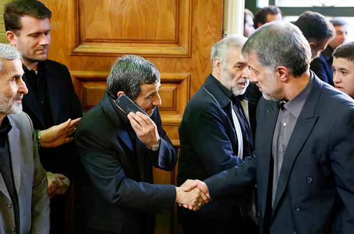 احمدی نژاد بازهم بخاطر بقایی نامه نوشت / نگرانی از سلامت حمید بقایی