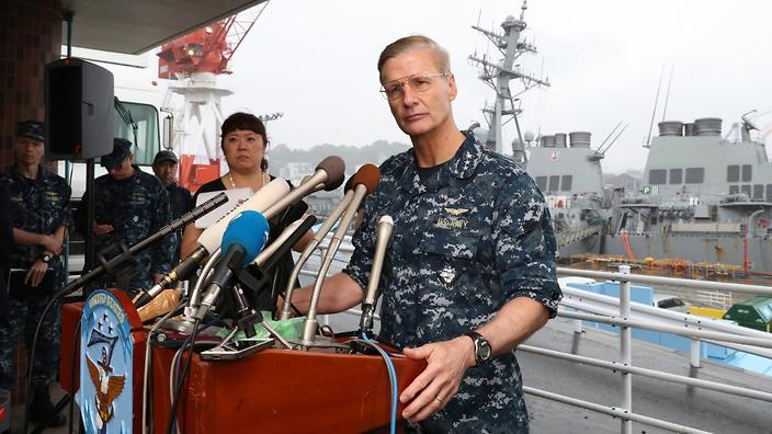 در پی چهارمین سانحه دریایی، فرمانده ناوگان هفتم نیروی دریایی آمریکا برکنار شد