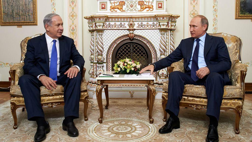 بنیامین نتانیاهو برای جلوگیری از حضور نظامی ایران، به دیدار پوتین می رود