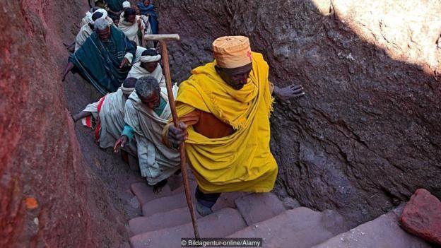 داستان کلیسایی در اتیوپی که فرشتهها آن را ساخته اند!