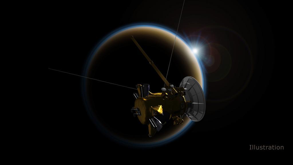 کاوشگر کاسینی بزودی در فضا نابود می شود